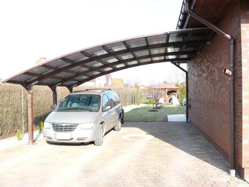 Realizacja wiaty typu carport dla naszego Klienta