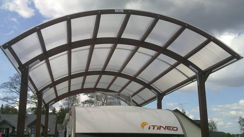 Realizacja wiaty carport przez firmę Drepo.pl
